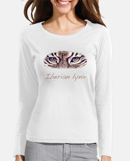 lynx ibérique violette  femme