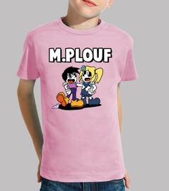 m. and even splash by osgilia - kids t-shirt