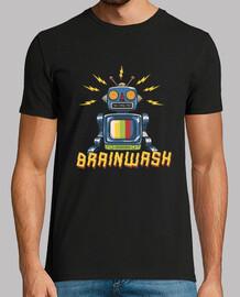 m. chemise de lavage de cerveau