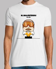 M. Malentendu au ski