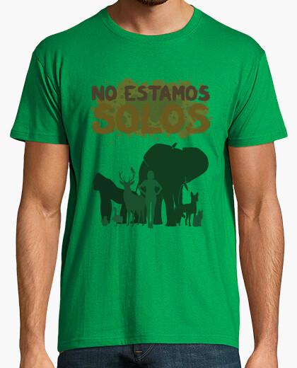 Camiseta [M] No estamos solos