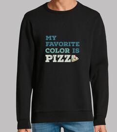 ma couleur préférée est la pizza