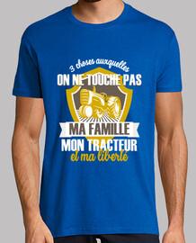 Ma famille et mon tracteur
