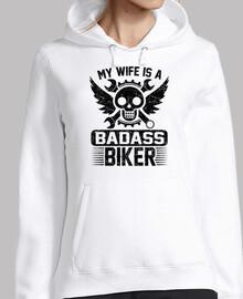 ma femme est une motard de badass