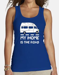 ma maison est la route
