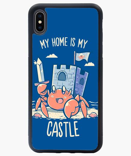 Coque iPhone XS Max ma maison est mon château - étui iphone