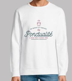 Ma marque de fabrique La Ponctualité