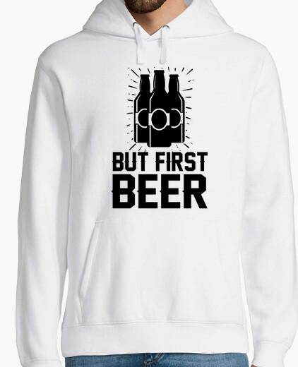 Felpa ma prima birra