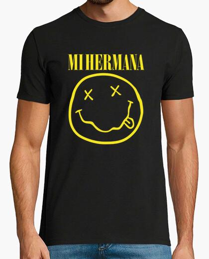 Tee-shirt ma sœur (logo nirvana)