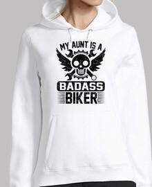 ma tante est un motard de badass