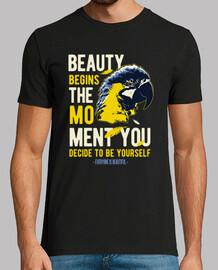 macaw t-shirt parrots birds