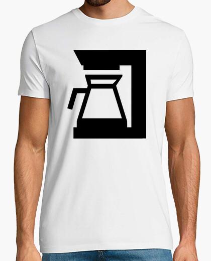 T-shirt macchina per il caffè