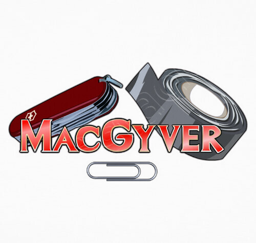 Tee shirt macgyver outils 492770 for Haus design mac
