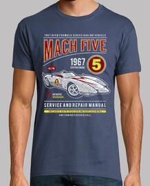 mach five vintage car