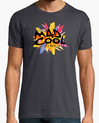 Camiseta Mad Cool Festival (logo colores)