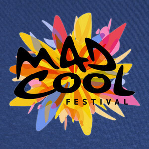 Camisetas Mad Cool Festival (logo colores)