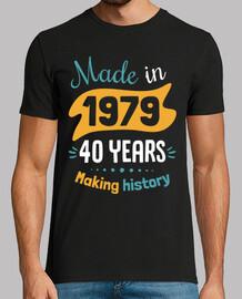 mad e nel 1979 40 anni ma king hi story