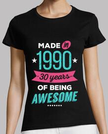 mad e nel 1990 30 anni of awesome