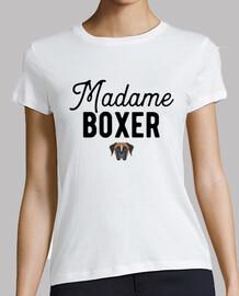 madam boxer humor