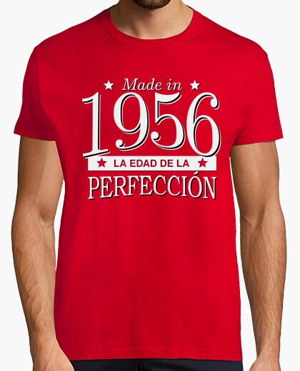 Camiseta Made in 1956 La edad de la perfección