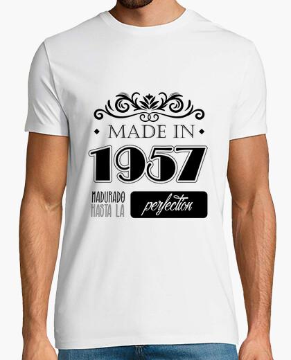Camiseta Made in 1957, madurado hasta la perfección