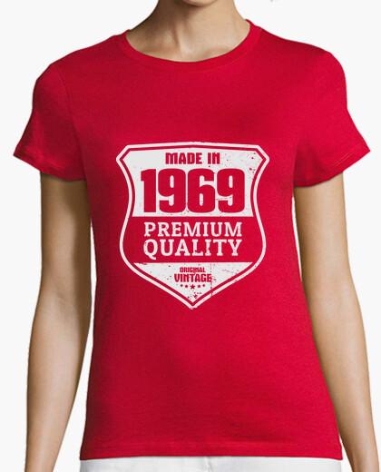 Camiseta Made In 1969, Premium Quality