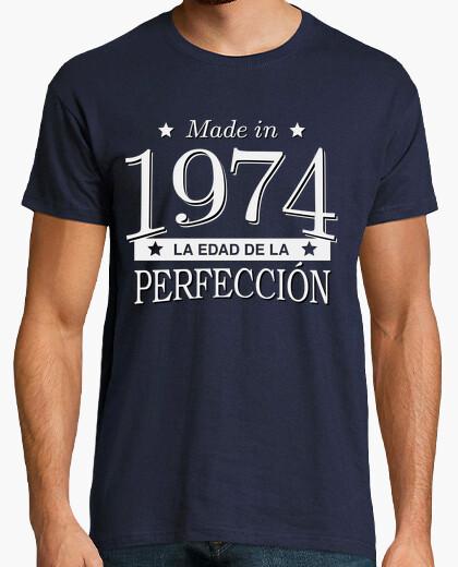 Camiseta Made in 1974 La edad de la perfección