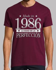 Made in 1986 La edad de la perfección