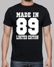 Made in 1989 limited edition