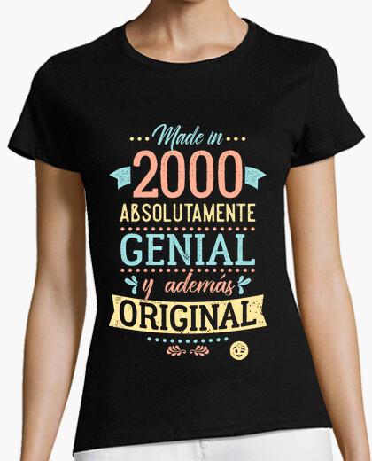 Camiseta Made in 2000 Absolutamente Genial