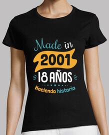 Made in 2001, 18 Años Haciendo Historia