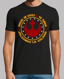 Made in 2002. 18 años Salvando la Galaxia