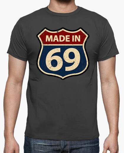 Tee-shirt made in 69
