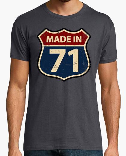 Camiseta Made in 71