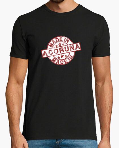 Camiseta Made in A Coruña