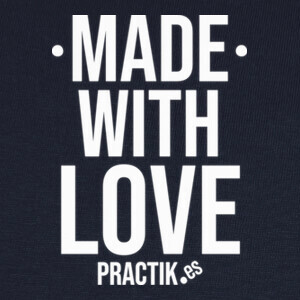 Camisetas made with love