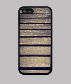 Madera - iPhone 5 / 5s, negra