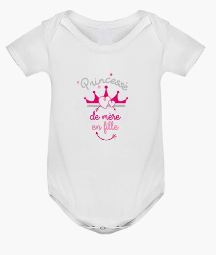 Ropa infantil madre a la hija de la princesa