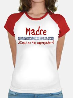Madre homeschooler