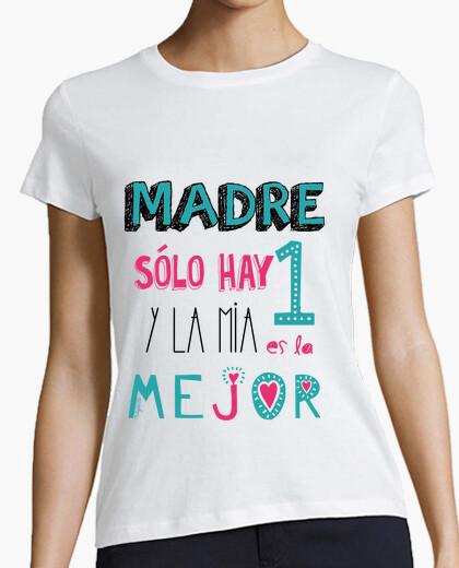 Camiseta MADRE SOLO HAY UNA