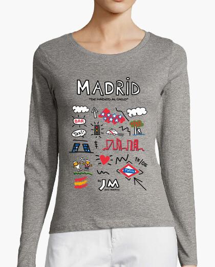 Camiseta Madrid (Texto Negro) - Jesu Medina