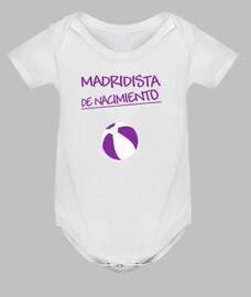 Madridista de nacimiento