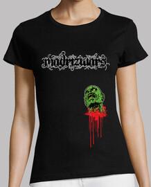 madrizwars zombie nera ragazza
