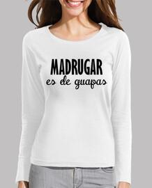 Madrugar women long sleeve