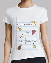 madurar es de frutas
