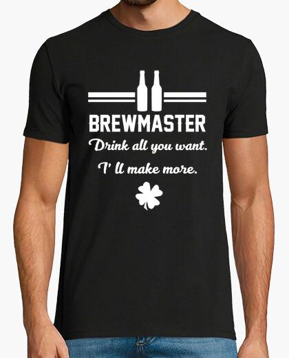 Camiseta maestro cervecero
