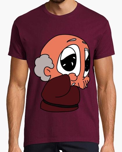 Camiseta Maestro Chen (Hombre) manga corta, burdeos, calidad extra