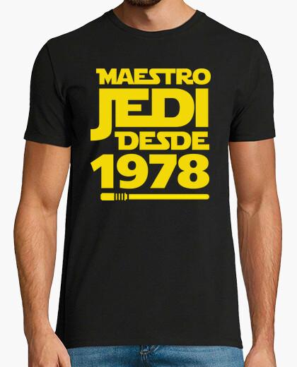 Camiseta Maestro Jedi Desde 1978, 41 años