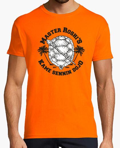 Camiseta Maestro Roshi Follet Duende Tortuga Kame
