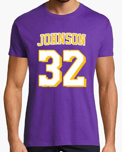 Camiseta Magic Johnson - Los Angeles Lakers away